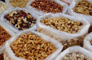 verschillende soorten noten